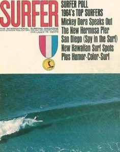 Bill Andrews- Photo by Ron Stoner For Surfer Mag 1964